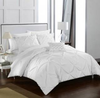 Chic Home Weber-Duvet Cover Set-Twin-White