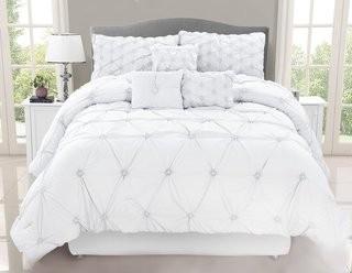 Willa Arlo Interiors Siya 7 Piece Comforter Set (WLAO3269_24101342_24101343)-Queen