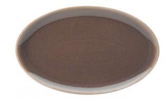 Denby-Oval Plate-Truffle-Set of 4