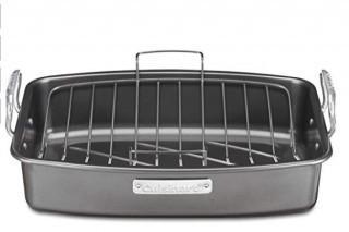 "Cuisinart-17"" Roasting Pan With Rack-ASR-1713VC"