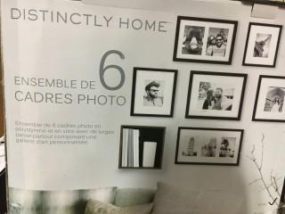 Distinctly Home-6Pc Frame Set-Black-As Is