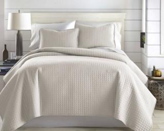 Southshore Fine Linens 3-piece Quilt Set - Bone