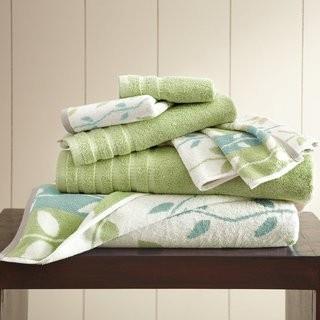 Three Posts Hodapp 6 Piece 100% Cotton Towel Set TRPT5738_29476885)-Aqua- 2 Sets