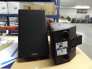High Power 8' 2 Way Speakers (2 Speakers)