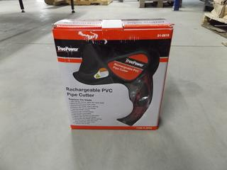 True Power Rechargeable PVC Pipe Cutter