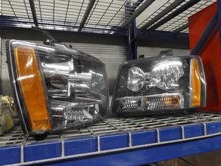 Set of (2) GM Truck Head Lights