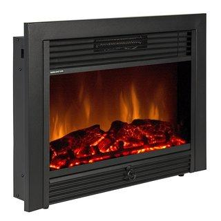 New  Electric Fireplace Black