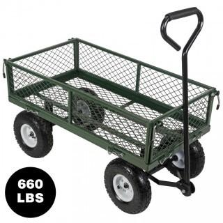 New 660LBS Heavy Duty Garden Cart