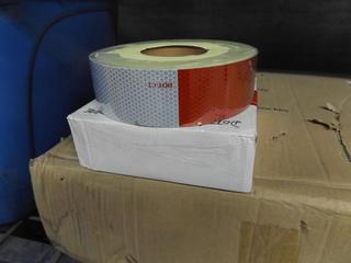 Roll of DOT/C2 Reflective Conspicuity Adhesive Tape