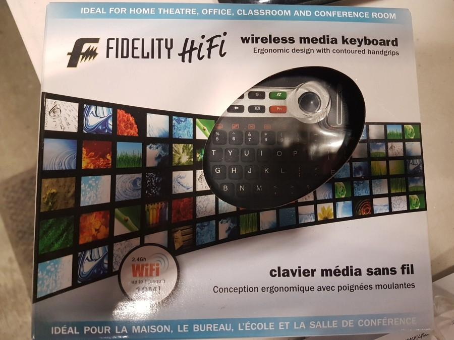 Fidelity HiFi Wireless Media Keyboard