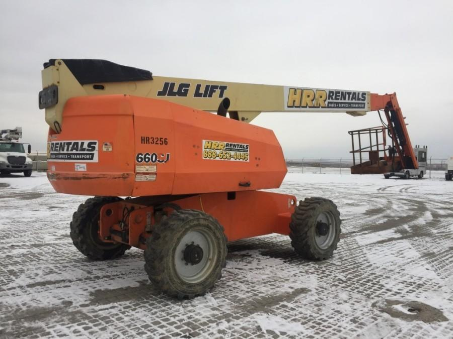 JLG 660SJ Telescopic Boom Lift *Requires Repair*
