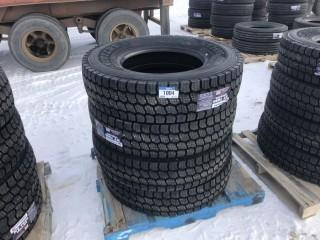 Lot of (4) NT 769S 11R22.5 Tires Control # 7676.