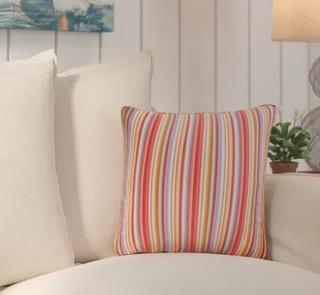 Beachcrest Home Colfax Outdoor Throw Pillow (SEHO7830) 4PC