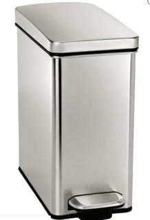 Simplehuman 10L Stainless Steel Garbage Can-Some Scratches