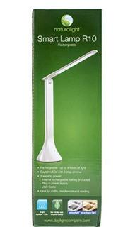 Daylight Smart R10 Rechargeable Desk Lamp, White