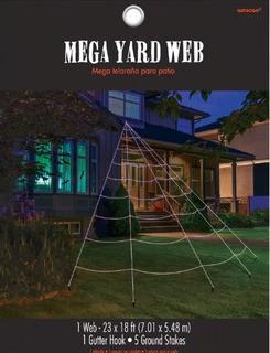 Amscan Halloween Mega Yard Web (BBME1732)
