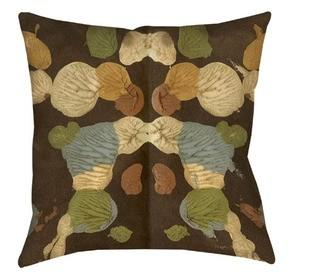 """Manual Woodworkers & Weavers Rorschach Abstract Printed Throw Pillow (TBPZ3564_12676054)-2PC 14x14"""""""