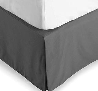 Andover Mills Grange Bed Skirt (ANDV2989_24746530_24746521)-Queen-Grey