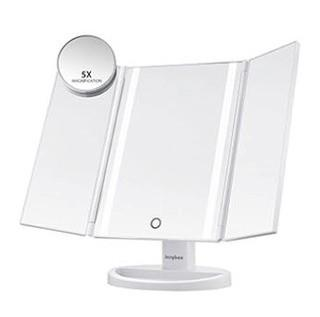 Ebern Designs Selsey Makeup Mirror (NGRI1182)White