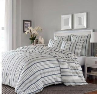 Stone Cottage Conrad Full/Queen Duvet Set in Grey