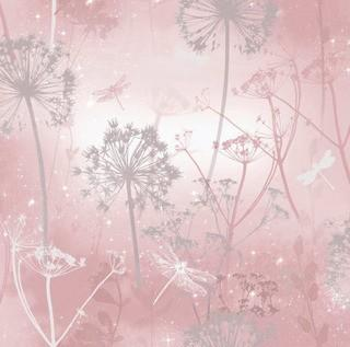Arthouse Wallpaper Damselfly Blush Wallpaper-2 Rolls, 57.7sq ft. each