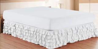 "Andover Mills Klingler Premium Quality 1500 Thread Count 15 Bed Skirt"" (ANDV2012_24098687)King, White"