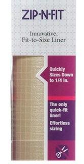 Zip-N-Fit Solid Grip Liner, Taupe 18x14ft.