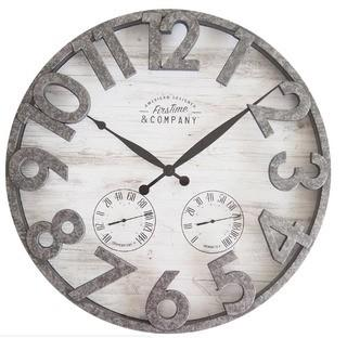 "FirsTime Shiplap 18"" Wall Clock (FSTI1226)"