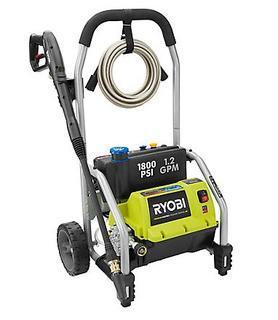 RYOBI?1800PSI 1.2 GPM Electric Pressure Washer