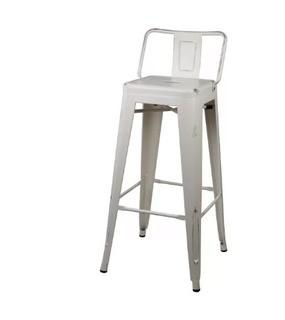 "Williston Forge Capucine 30"" Bar Stool (WLFR6722_25723167)White, Set Of 4"
