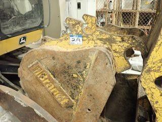 """Brandt 24"""" Digging Bucket for Excavator."""