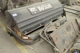 """Bobcat Q/A 70"""" Sweeper Attachment."""