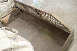 """Skid Steer Q/A 70"""" Digging Bucket Attachment."""