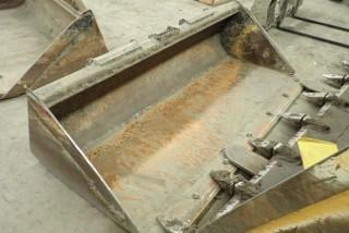 """Skid Steer Q/A 76"""" Cleanout Bucket Attachment."""