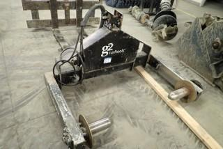 G2 Turf Tools 530 3-pt Hitch Turf Rack.