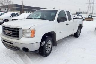 2011 GMC Sierra 1500 SLE 4X4 Extended Cab Pickup Truck. Gas Engine, Automatic Transmission. Showing 256,625kms. VIN 1GTR2VE32BZ152149.