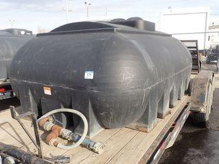 Poly 950gallon Tank.