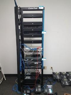 CableTalk 7' Server Rack