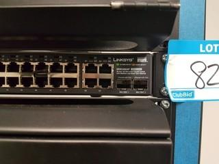Linksys 48 Port 10/100+ 4 Port Gigabit Switch with Web View and Power over Ethernet