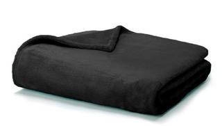 "Snuggle Throw Blanket 50""x60"" ,Black"