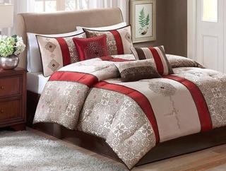 Andover Mills Raposo 7 Piece Comforter Set, Queen
