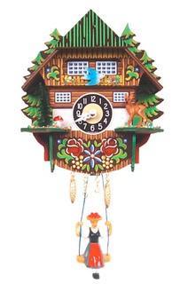 Mountain Chalet Cuckoo Clock