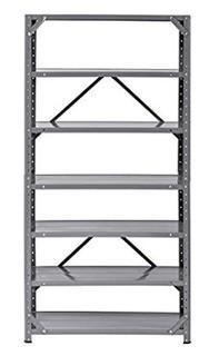 Edsal Muscle Rack HC30127-17 Steel 7-Shelf Shelving Unit