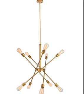 Caden 10-Light Sputnik Chandelier