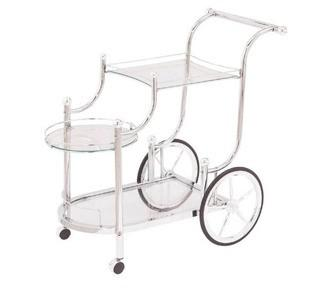 Kimpel Elegant Metal Frame Bar Carts
