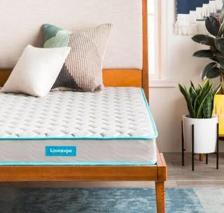 "Linenspa 6"" Spring Mattress, Full"
