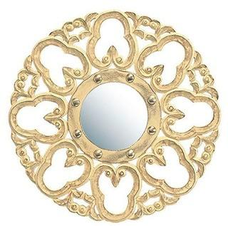 Domingues Hand Carved Accent Mirror