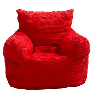 Bean Bag Chair, Red