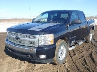 2008 Chevrolet 1500 4X4 Crew Cab Pick Up Truck. VIN# 2GCEK133X81315433