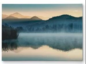 Quiet Morning' Photographic Print on Wrapped Canvas 16x20""